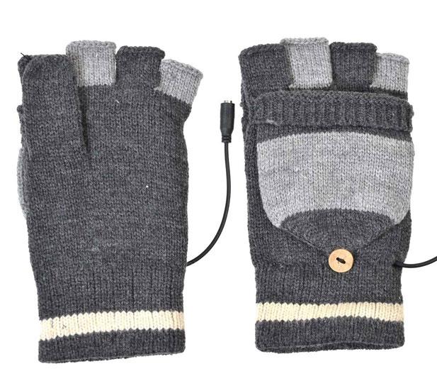 サンコー-USBあったか爽快手袋