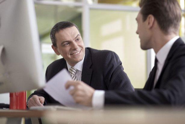 ビジネスマン-会話