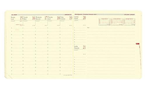クオバディス 手帳 2016 エグゼクティブノート リフィル ウィークリー
